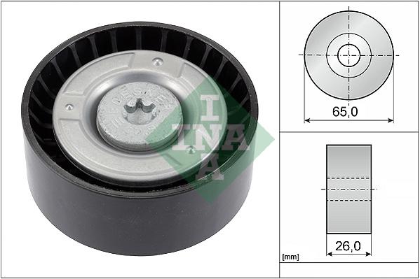 Galet enrouleur accessoires INA 532 0608 10 (X1)