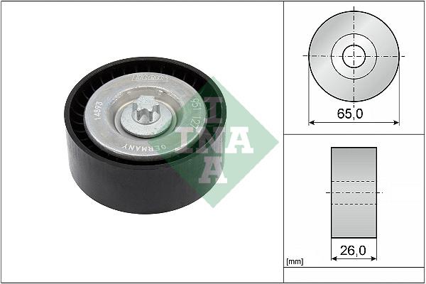 Galet enrouleur accessoires INA 532 0630 10 (X1)