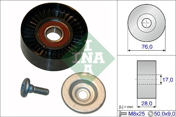 Galet enrouleur accessoires INA 532 0648 10 (X1)
