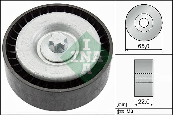 Galet enrouleur accessoires INA 532 0667 10 (X1)