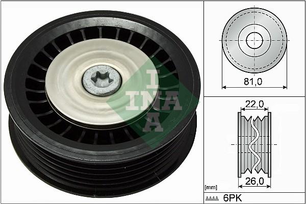 Galet enrouleur accessoires INA 532 0678 10 (X1)