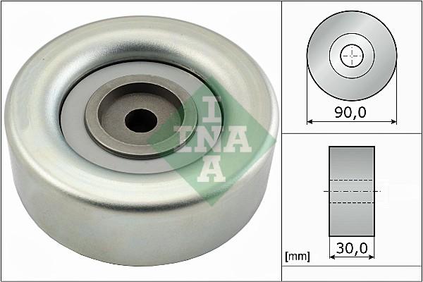 Galet enrouleur accessoires INA 532 0693 10 (X1)