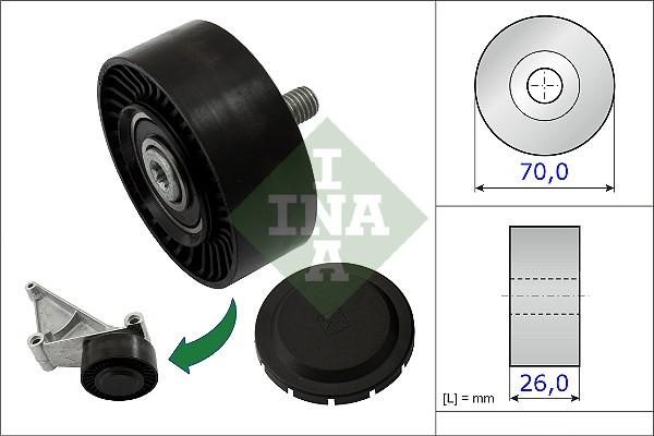 Galet enrouleur accessoires INA 532 0718 10 (X1)