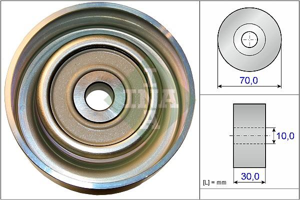 Galet enrouleur accessoires INA 532 0738 10 (X1)