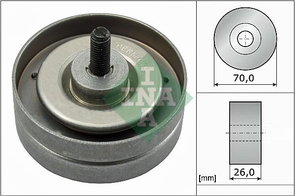 Galet enrouleur accessoires INA 532 0789 10 (X1)