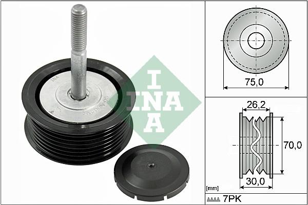 Galet enrouleur accessoires INA 532 0792 10 (X1)