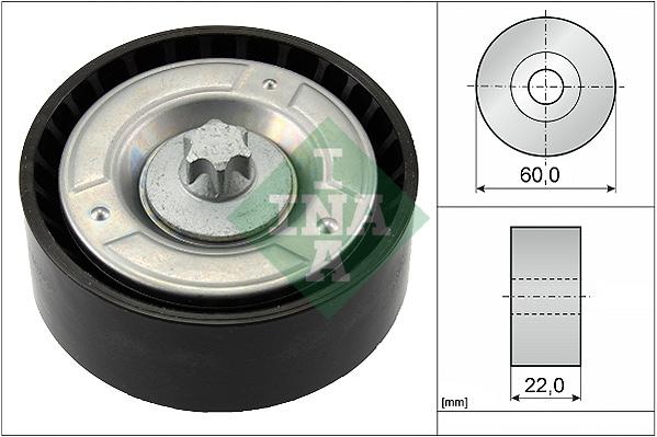 Galet enrouleur accessoires INA 532 0798 10 (X1)