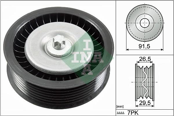 Galet enrouleur accessoires INA 532 0808 10 (X1)