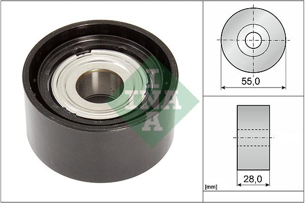 Galet enrouleur accessoires INA 532 0853 10 (X1)