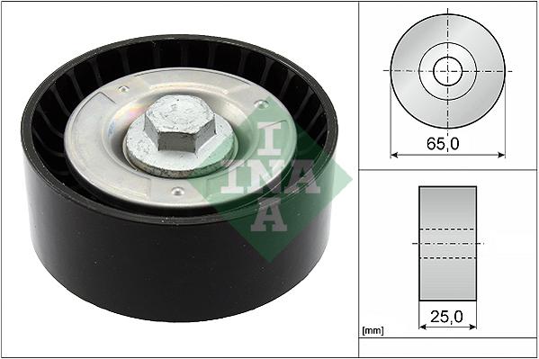 Galet enrouleur accessoires INA 532 0855 10 (X1)