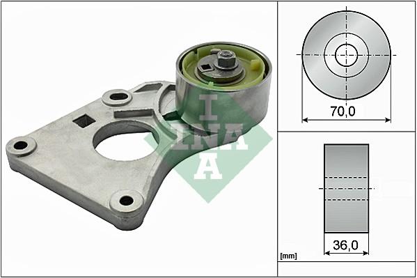 Tendeur de courroie de distribution INA 533 0088 20 (X1)