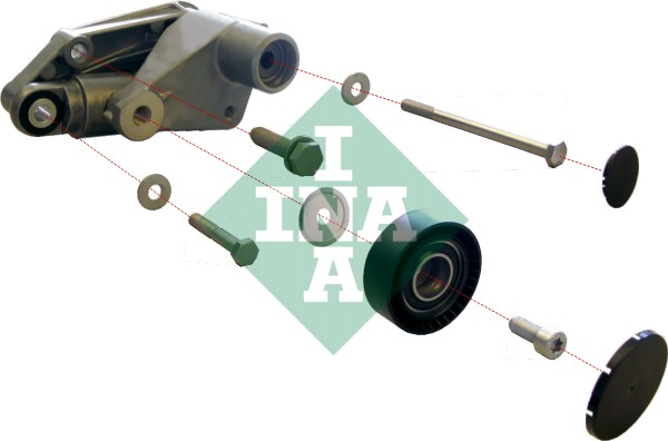 Galet tendeur accessoires INA 533 0097 10 (X1)