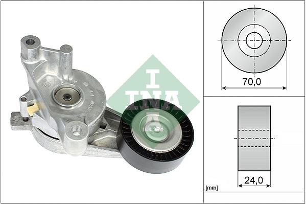 Tendeur de courroie d'accessoires INA 534 0059 10 (X1)