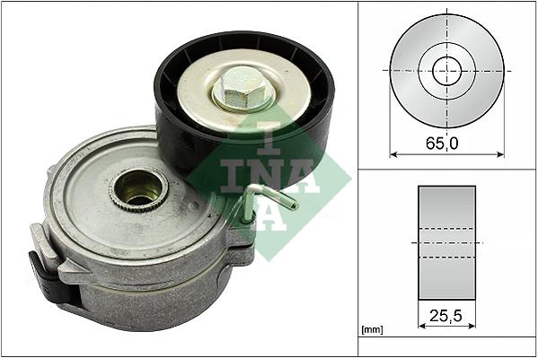 Tendeur de courroie d'accessoires INA 534 0068 10 (X1)