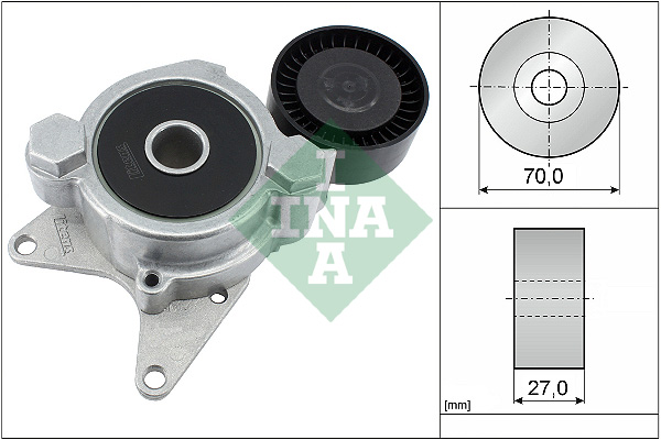 Tendeur de courroie d'accessoires INA 534 0174 10 (X1)