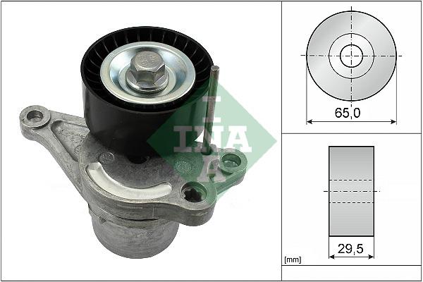 Tendeur de courroie d'accessoires INA 534 0281 10 (X1)