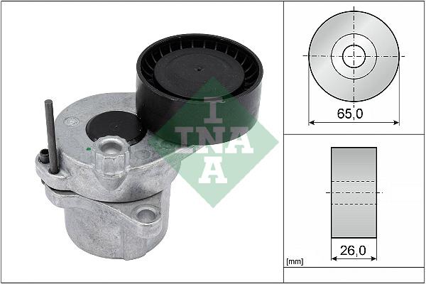 Tendeur de courroie d'accessoires INA 534 0336 10 (X1)