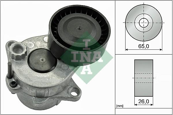 Tendeur de courroie d'accessoires INA 534 0337 10 (X1)