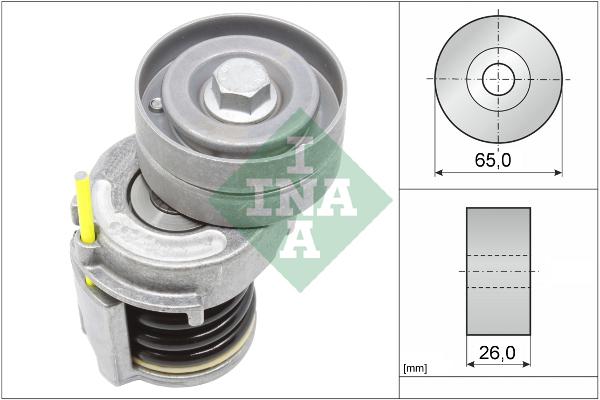 Tendeur de courroie d'accessoires INA 534 0346 10 (X1)