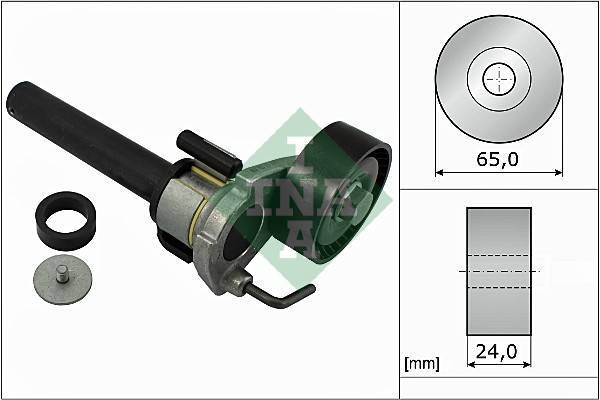 Tendeur de courroie d'accessoires INA 534 0422 10 (X1)