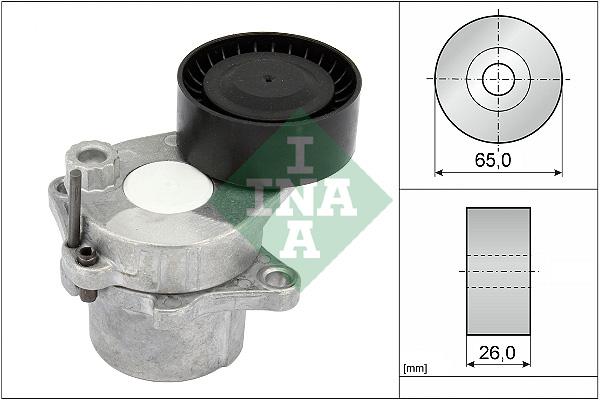 Tendeur de courroie d'accessoires INA 534 0444 10 (X1)