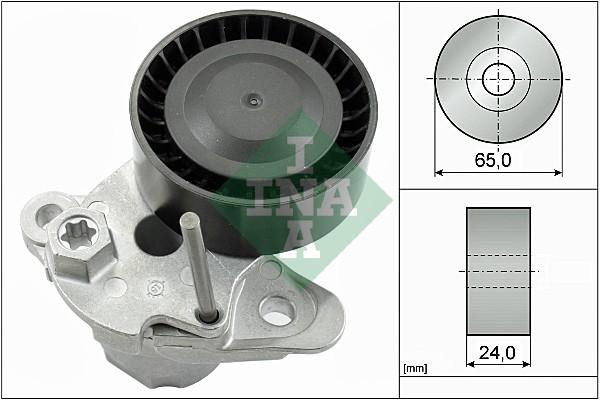 Tendeur de courroie d'accessoires INA 534 0480 10 (X1)