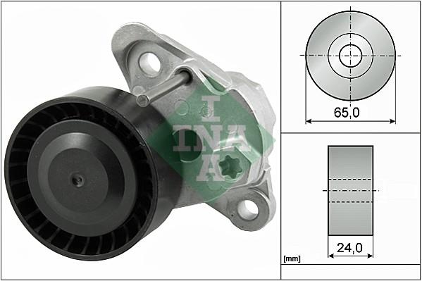Tendeur de courroie d'accessoires INA 534 0497 10 (X1)