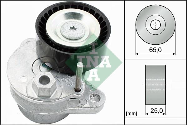 Tendeur de courroie d'accessoires INA 534 0540 10 (X1)