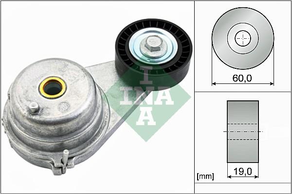 Tendeur de courroie d'accessoires INA 534 0541 10 (X1)