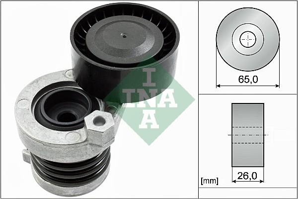 Tendeur de courroie d'accessoires INA 534 0551 10 (X1)