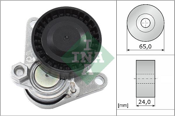 Tendeur de courroie d'accessoires INA 534 0552 10 (X1)