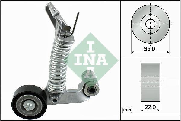 Tendeur de courroie d'accessoires INA 534 0574 10 (X1)
