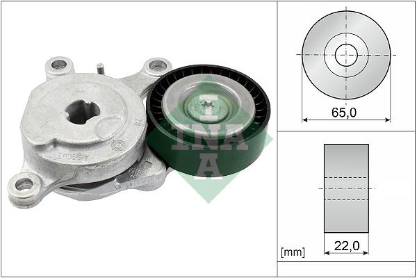 Tendeur de courroie d'accessoires INA 534 0575 10 (X1)