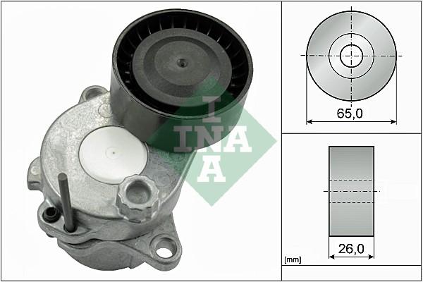 Tendeur de courroie d'accessoires INA 534 0592 10 (X1)
