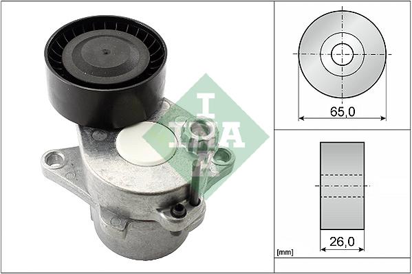 Tendeur de courroie d'accessoires INA 534 0611 10 (X1)
