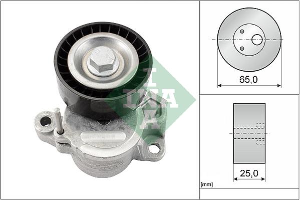 Tendeur de courroie d'accessoires INA 534 0625 10 (X1)