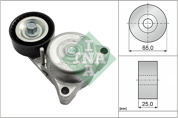 Tendeur de courroie d'accessoires INA 534 0638 10 (X1)