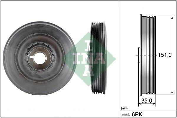 Poulies INA 544 0090 10 (X1)