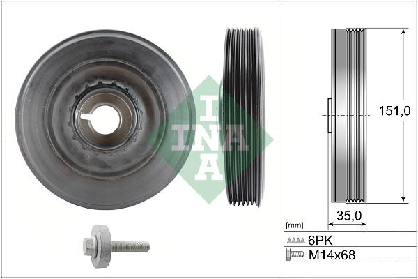 Poulies INA 544 0090 20 (X1)