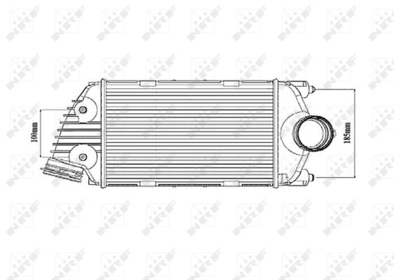 Turbo/suralimentation NRF 30187 (X1)