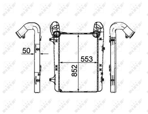 Intercooler radiateur de turbo NRF 30200 (X1)