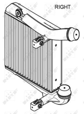 Intercooler radiateur de turbo NRF 30350 (X1)