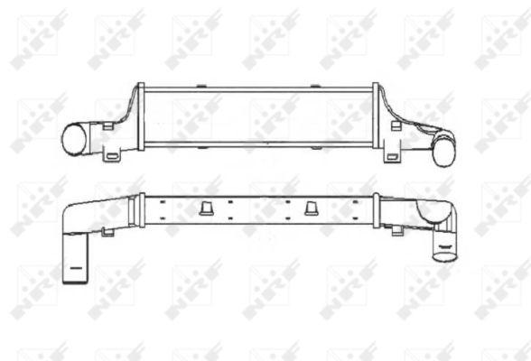 Intercooler radiateur de turbo NRF 30408 (X1)