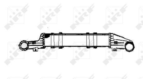 Intercooler radiateur de turbo NRF 30421 (X1)
