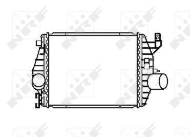 Intercooler radiateur de turbo NRF 30424 (X1)