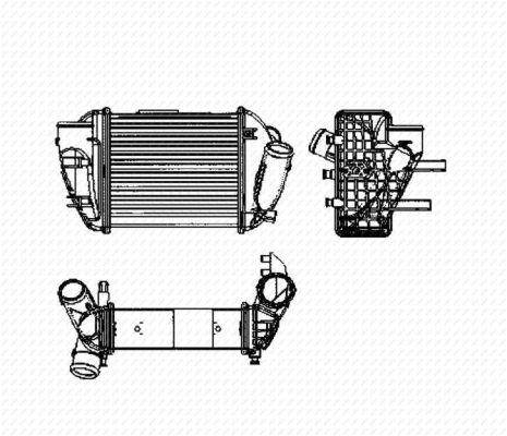 Intercooler radiateur de turbo NRF 30755 (X1)