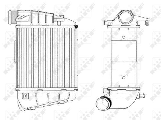 Intercooler radiateur de turbo NRF 30771 (X1)