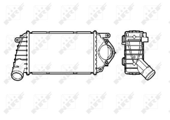 Intercooler radiateur de turbo NRF 30849 (X1)