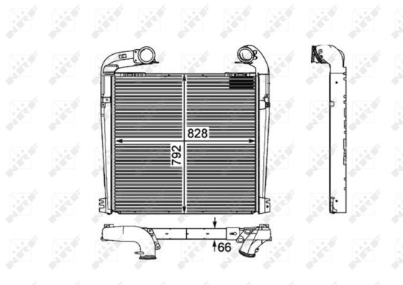 Turbo/suralimentation NRF 30898 (X1)
