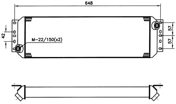 Radiateur huile NRF 31088 (X1)